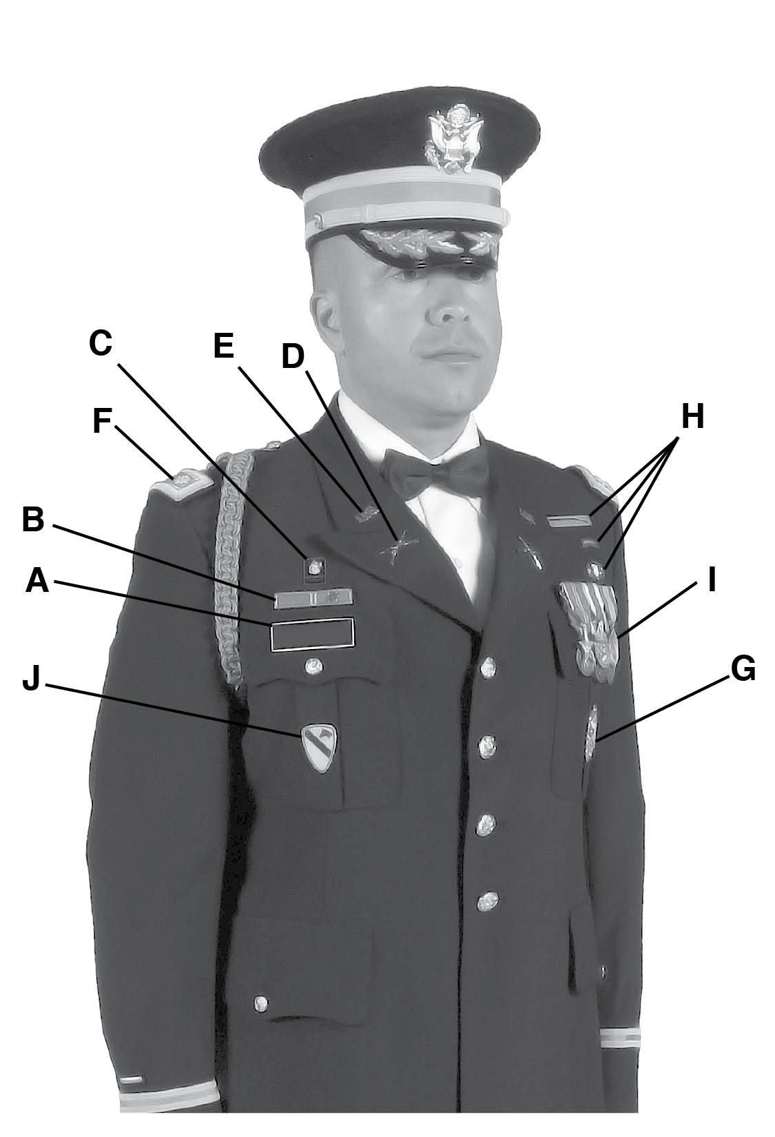 Army Service Uniform Officer Male